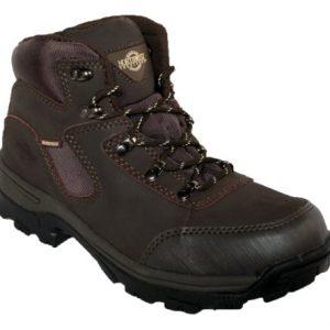 Size 6 Northwest Territory Womens Peak Shiny Brown Leather Waterproof Hiking Boots. Bnib