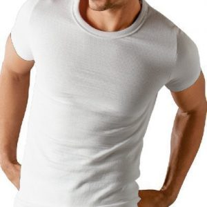 Socks Uwear® Mens Thermal Short Sleeve T Shirt Vest Underwear Lrg White