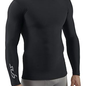 Sub Sports COLD Men's Thermal Compression Baselayer Long Sleeve Top - X-Large, Black