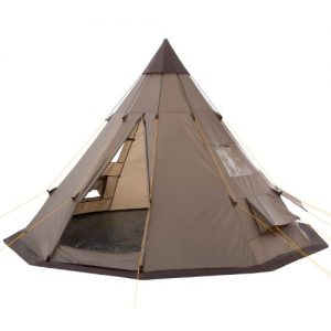 CampFeuer® - Teepee Tent, Tipi brown