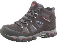 Bodmin Sea Dark Brown/Grey/Red Karrimor Mens Bodmin Mid 4 Weathertite Hiking Boots Black Sea