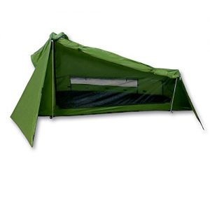Outdoorer tent Trek Santiago, green, 1,15kg, small pack size, the lightweight tent for 1 person