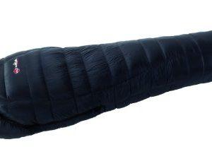 Wilsa Down 650 mummy sleeping bag, 90% white goose down, Tactel® shell