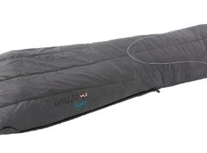Wilsa Lhassa Light rectangular sleeping bag, single layer, Isolane 3D fill, rip-stop