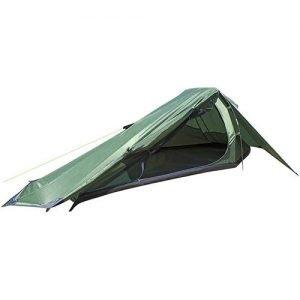 1 Person Trekker Tent Hiking Outdoors One Man Tent Single - Green