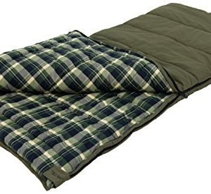 alps outdoorz unisex's 4073307 sleeping bag, green, 38 - x 80 -inch