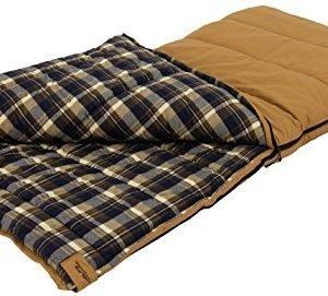 alps outdoorz unisex's 4093414 sleeping bag, tan, 38 - x 80 -inch