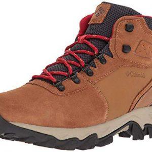 columbia men's newton ridge plus ii suede waterproof boot hiking shoe