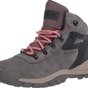 columbia women's newton ridge plus waterproof amped leather & suede hiking boot, 1