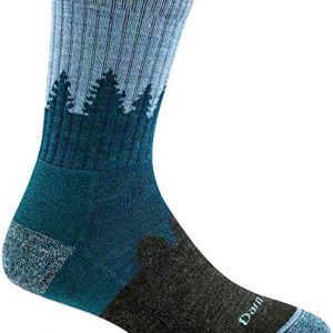 darn tough womens treeline micro crew cushion sock
