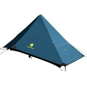 GEERTOP 1 Person Backpacking Tent 4 Season Single Outdoor Lightweight Waterproof Camping Tent for Mountaineering Hiking Travel