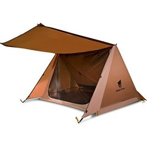 GEERTOP Backpacking Tent 2 Person Trekking Pole Tent Ultralight Trekker Tent Survival Gear Shelter for Camping Hiking Travel