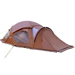 GEERTOP Large Family Camping Tent 6 Person Portable Double Layer for Fishing, Camping, Hiking and Outdoor Activities