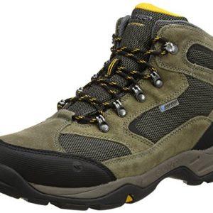 hi-tec men storm waterproof high rise hiking boots