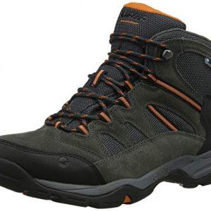 hi-tec men's banderra ii wp wide high rise hiking boots