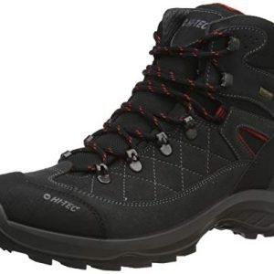 hi-tec men's bergamo waterproof walking shoe