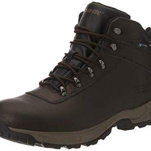 hi-tec men's eurotrek lite wp high rise hiking boots