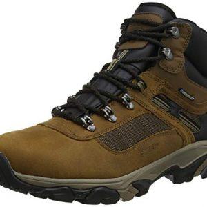 hi-tec men's ravus quest lux mid wp high rise hiking boots