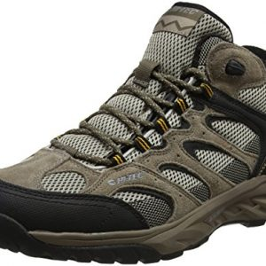 hi-tec men's wild-fire mid i waterproof high rise hiking boots