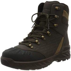 lowa men's nabucco evo gtx high rise hiking boots