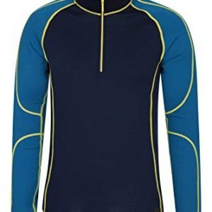 mountain warehouse asgard mens merino thermal baselayer top - half zip jumper, breathable sweater, easy care, heavier weight fabric, warm - antibacterial - for winter
