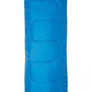 mountain warehouse basecamp 200 mini sleeping bag - 2 season, 160 * 65cm, insulated kids travel sleep essential