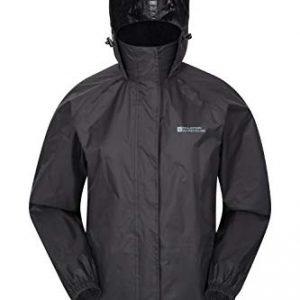 Mountain Warehouse Pakka Womens Waterproof Packable Jacket - Foldaway Hood Jacket, Ladies Coat, Lightweight Rain Jacket -for Cycling, Walking, Travelling