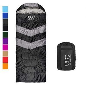 mummy sleeping bag for indoor and outdoor - great for kids, boys, girls, teens, adults. portable and lightweight for 3-4 season camping, hiking, traveling, backpacking and outdoor