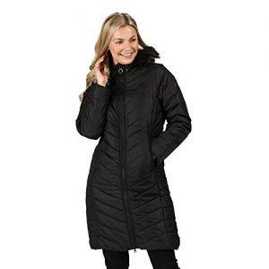 regatta women's fritha veste À capuche matelassée femme avec doublure isolante baffled/quilted jackets