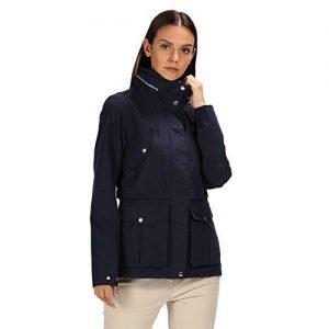 regatta women's nadalia waterproof and breathable concealed hooded outdoor jacket