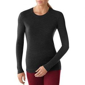 smartwool midweight women's long sleeve shirt crew neck