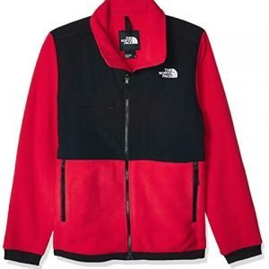 the north face denali unisex jacket red