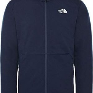 the north face quest t93yg1h2g outdoor hiking everyday fleece jacket mens new blue s
