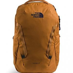 the north face vault backpack timber tan/tnf navy one size