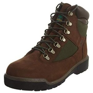 timberland mens 6-inch waterproof field chocolate old river boot - 14